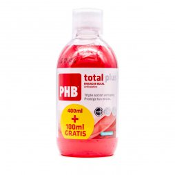 Phb Enjuague Bucal Total Plus 500ml