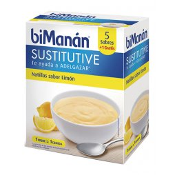 Bimanan Natillas Limon 6 Sobres