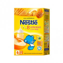 Nestle 8 Cereales / Miel 600g