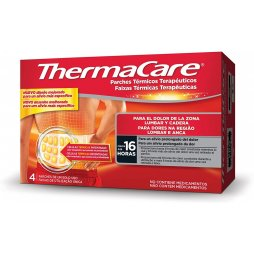 Parche Thermacare Lumbar/Cadera 4 uds