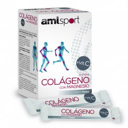 Amlsport Colageno C/Magnesio 20 Sticks