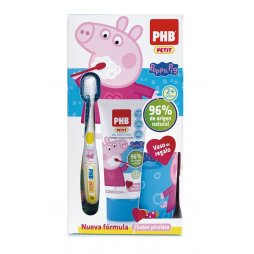 Phb Petit Peppa Gel+Cepillo+Regalo