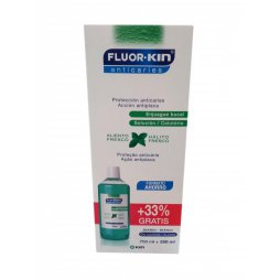 Fluor Kin Anti Caries Enjuague diario 750+250ml