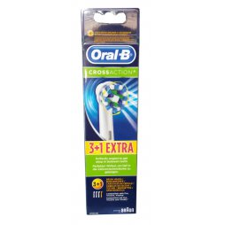 Oral-B Recambio CrossAction 3+1 Extra