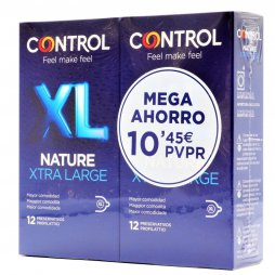 Control Nature XL 12+12 Pack Mega Ahorro