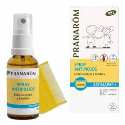 Pranarom Spray Antipiojos + Lendrera 30ml