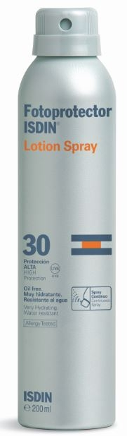 Fotoprotector Isdin Lotion Spray SPF30  200ml