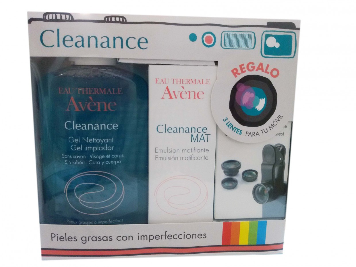 Avene Cleanance Pack Gel + Emulsión + Regalo